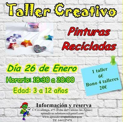 Taller infantil creativo en Aprendiver