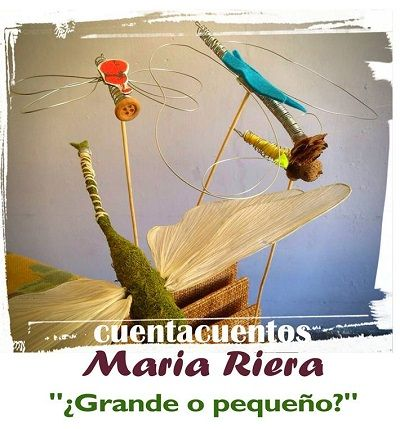 Cuentacuentos de María Riera en la librería Letras Corsarias
