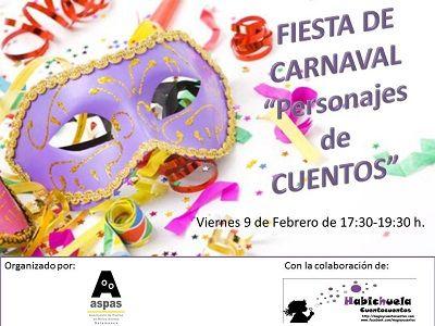 Fiesta de Carnaval en Aspas