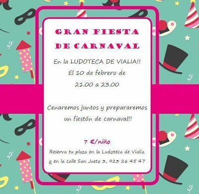 Fiesta de Carnaval en Vialia