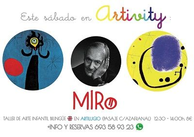 Miró en el Artivity de Paz