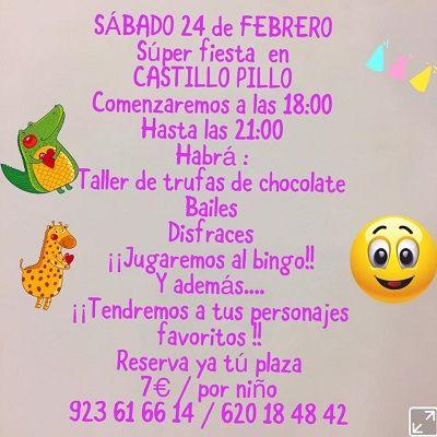 Superfiesta en El Castillo Pillo