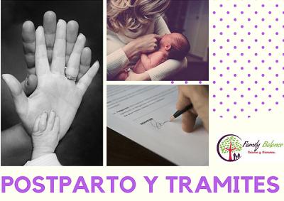Taller de postparto y trámites en Family Balance Salamanca
