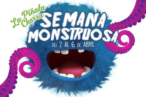 Semana Monstruosa en la Ludoteca La Piñata Charra