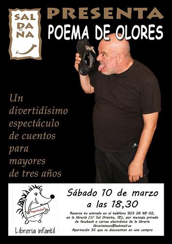 Fernando Saldaña en la librería Musarañas