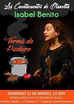 Cuentacuentos en el Manolita con Isabel Benito