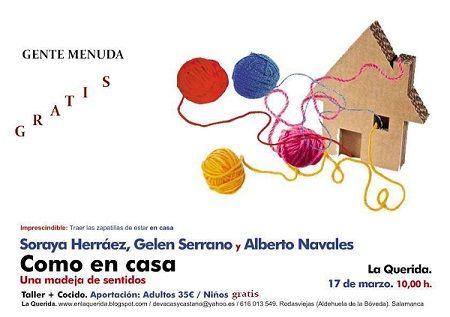 Taller en La Querida con Gelen Serrano, Alberto Navales y Soraya Herráez