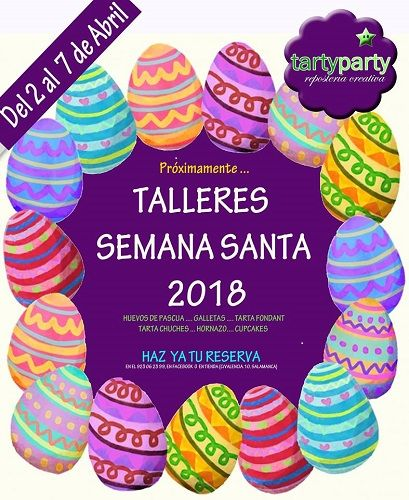 Talleres de Semana Santa en Tarty Party