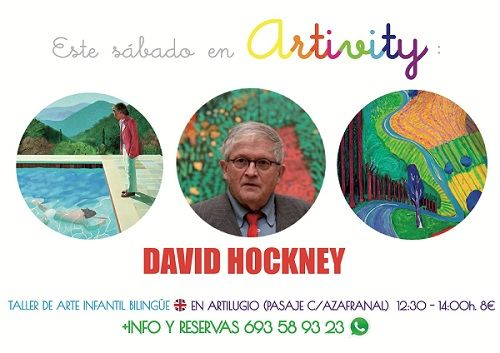 Artivity con David Hockney