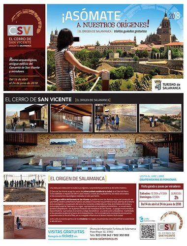 Visitas guiadas gratuitas por el Cerro de San Vicente