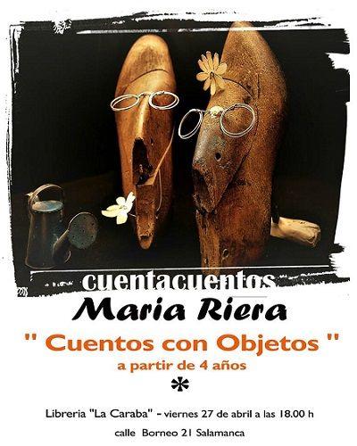 Cuentacuentos de María Riera en la librería La Caraba