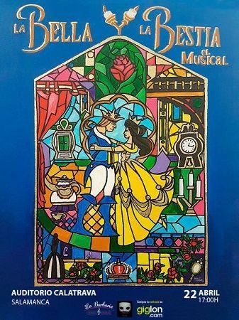 """Musical """"La Bella y la Bestia"""" en el Auditorio Calatrava de Salamanca"""