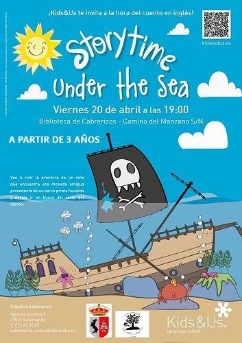 Storytime en la Biblioteca de Cabrerizos con Kids&Us