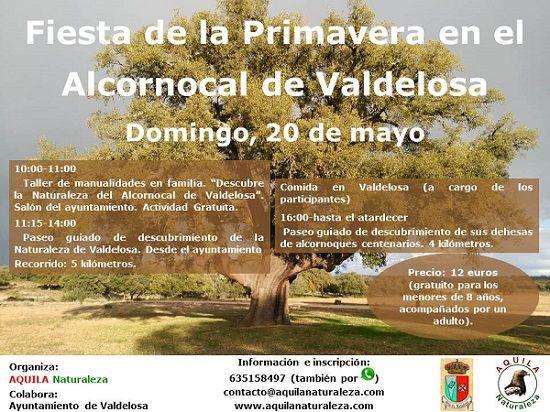 Fiesta de la Primavera en el Alcornocal de Valdelosa con Aquila Naturaleza