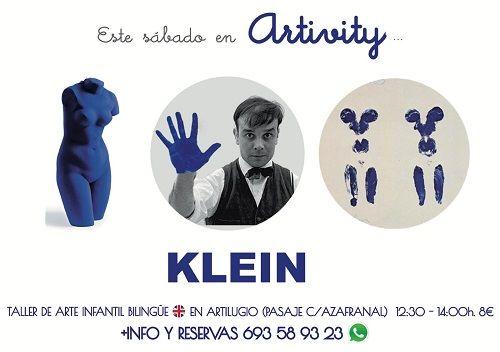 Klein en Artivity, el taller infantil de arte en inglés
