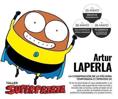 """Taller """"Superpatata"""" en la librería Letras Corsarias"""