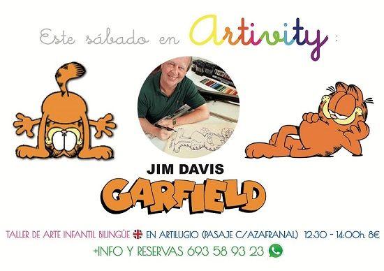 Jim Davis en el Artivity