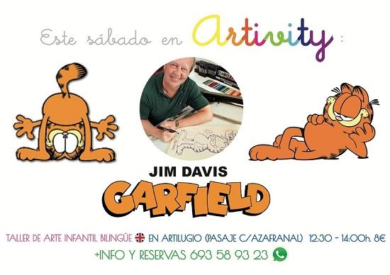 Jim Davis en el Artivity
