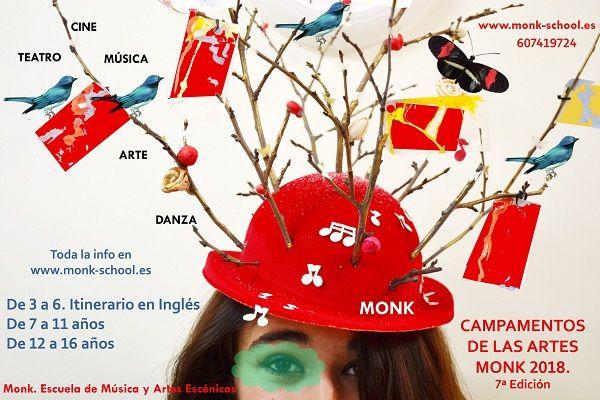 Campamento urbano de las Artes en Monk