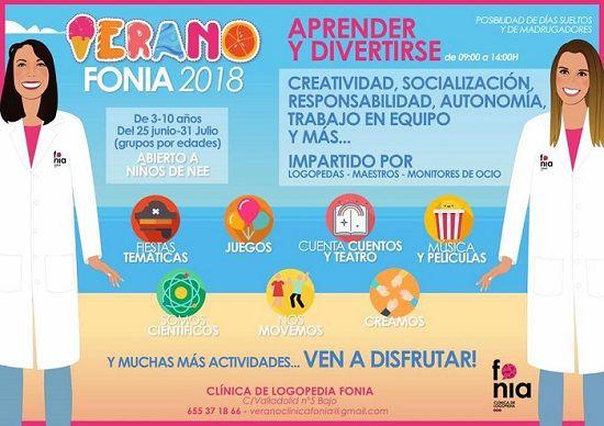 Campamento urbano en Fonia
