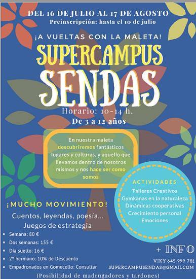Supercampus de verano en el Colegio Rural Sendas