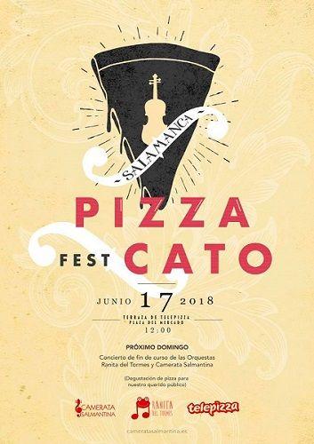 Concierto y pizza este domingo