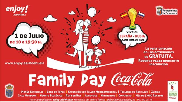 Family Day Coca Cola en Enjoy Aldehuela