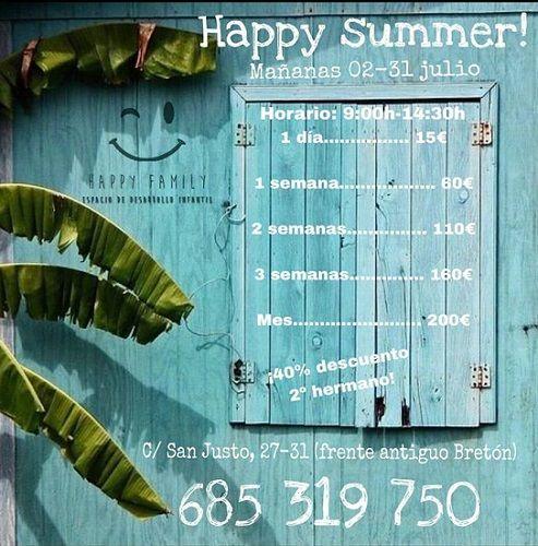 Tu verano en Happy Family