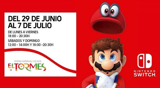 Nintendo Switch en El Tormes