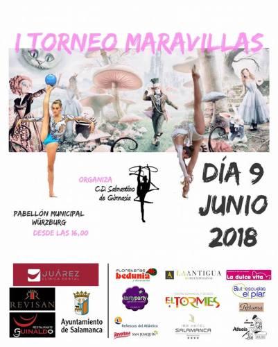 I Torneo Maravillas de Gimnasia en Salamanca