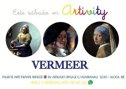 Vermeer en el Artivity