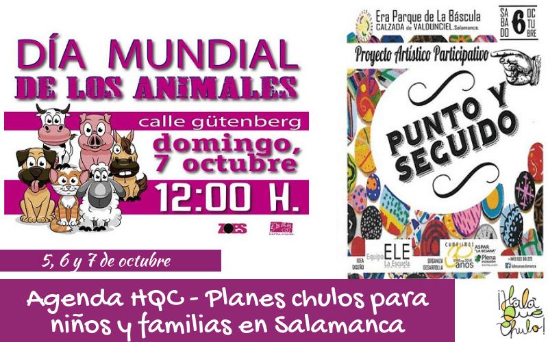 Agenda HQC - Planes infantiles y familiares en Salamanca