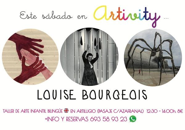 Louise Bourgeois, protagonista del Artivity