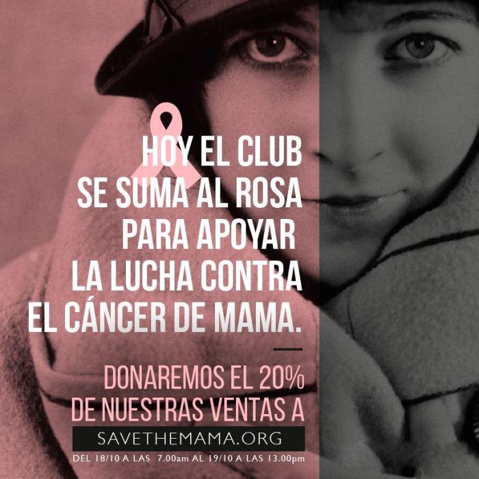 Club de las Malasmadres y el cáncer de mama
