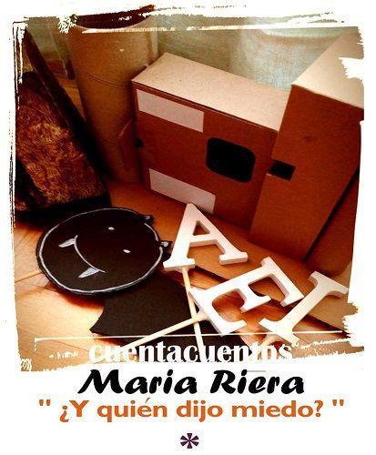 Cuentacuentos de miedo con María Riera en la librería Letras Corsarias