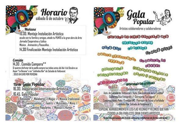 Encuentro artístico en Calzada de Valdunciel