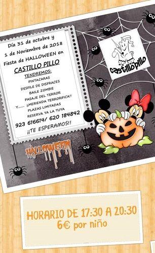 Disfruta de Halloween en El Castillo Pillo también el 1 de noviembre
