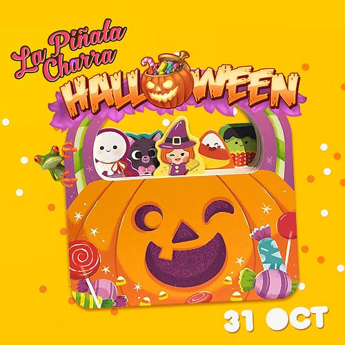 La Piñata Charra y su fiesta de Halloween