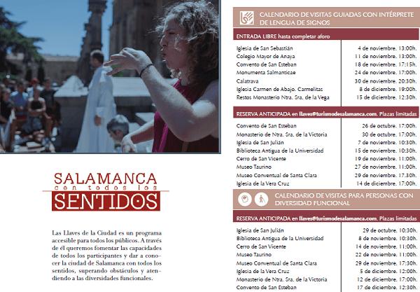 Salamanca con todos los sentidos