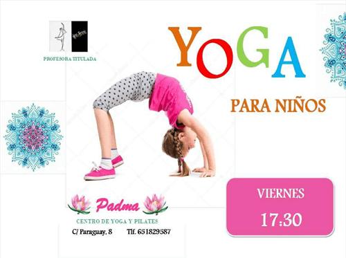 Yoga infantil en Salamanca en Padma