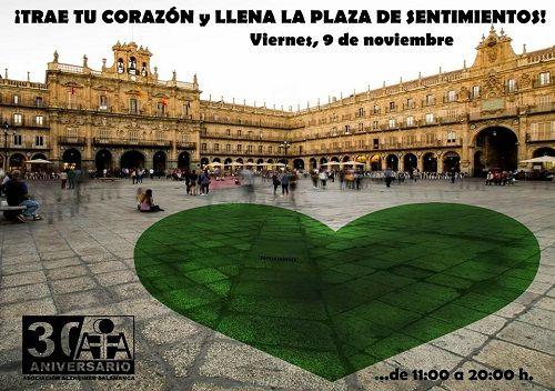 Celebra el 30 cumpleaños de Afa Salamanca en la Plaza Mayor