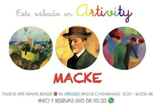 Artivity, taller infantil de arte en inglés