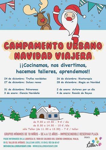 Campamento de Navidad en Vialia