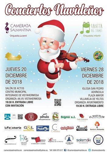 Concierto navideños con Camerata Salmantina y Ranita del Tormes