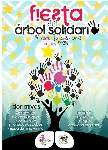 """Fiesta """"El Árbol Solidario"""" en Los Rosales"""