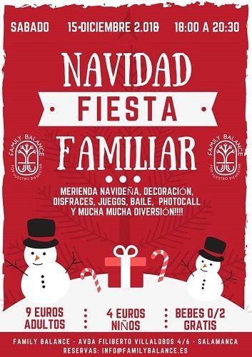 Fiesta de Navidad familiar en Family Balance