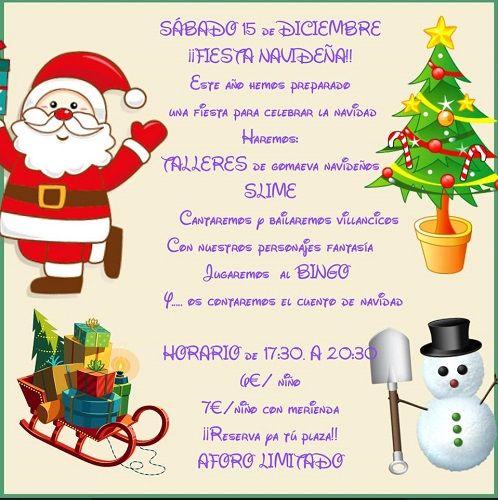 Fiesta de Navidad en El Castillo Pillo