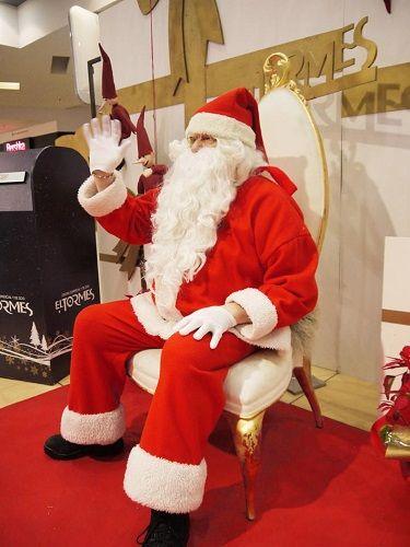 Papá Noel visita el C.C. El Tormes