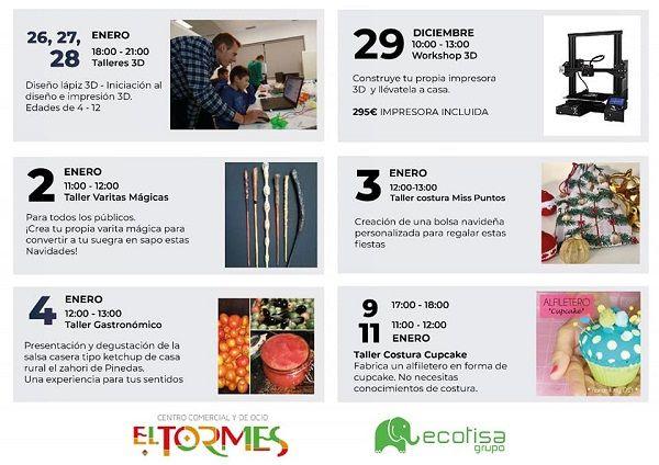 Talleres creativos con Ecotisa en El Tormes