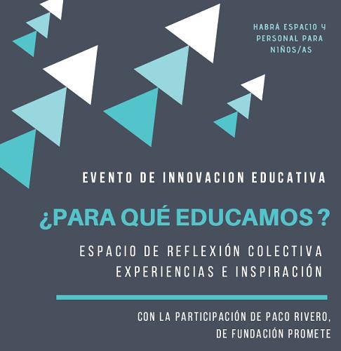 Evento de innovación educativa en Salamanca con Sendas y la Fundación Promete